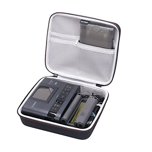 LTGEM EVA Hard Case for Canon SELPHY CP1200 & CP1300 Wireless Compact Photo Printer - Travel Protective Carrying Storage Bag by LTGEM