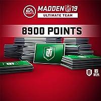 MADDEN NFL 19: MADDEN NFL 19 - MUT 8900 MADDEN POINTS PACK (IN-GAME) - PS4 [Digital Code]