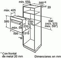 Bosch HBA22R251E - Horno Hba22R251E Multifunción