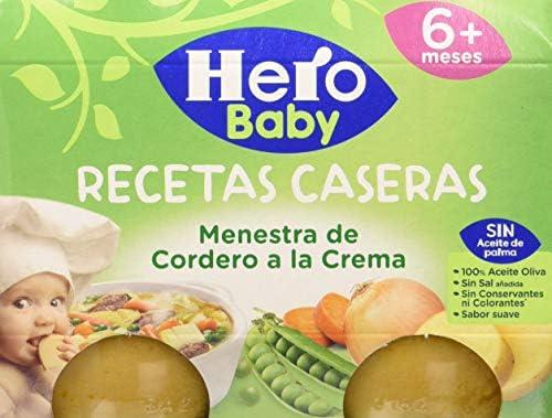 Hero Baby Verduritas Con Merluza Tarritos de Puré para Bebés a partir de 8 meses Pack de 12 x 235 g: Amazon.es: Alimentación y bebidas