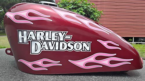 Harley Davidson Wings Motorcycle Helmet Stickers Retro Reflective