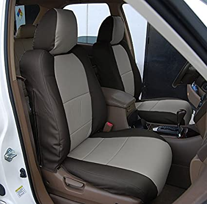 Amazoncom ACURA MDX BLACKGREY Artificial Leather Custom - Acura mdx seat covers
