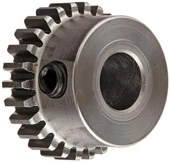 Boston Gear Spur Gear, 14.5 Pressure Angle, Steel, Inch, 32 Pitch