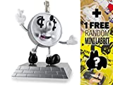 Lucky Dime Coin Bank: ~10'' Kidrobot x Jeremyville Vinyl Figure Money Box + 1 FREE Official Labbit Mini-Figure Bundle