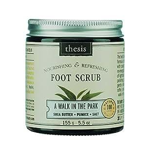 Foot Scrub - Shea Butter, Pumice Stone - A Walk In The Park