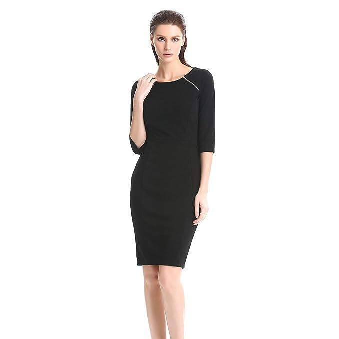 Las mujeres lápiz vestido formal vestidos oficina vestido vestido de fiesta