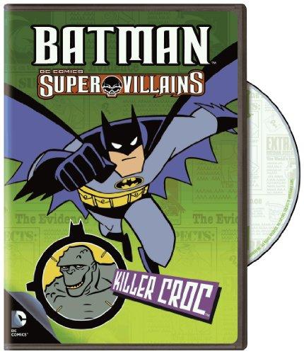 Batman Super Villains: Killer Croc (Value/DVD) (Best Super Villains)