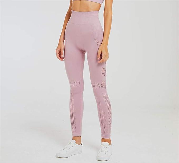 CYSGJ Pantalones De Yoga Pantalones De Estiramiento Alto ...