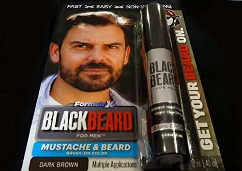 Amazon.com : Blackbeard for Men - Instant Brush-On Beard ...