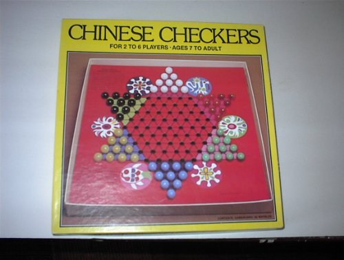 Whitman Chinese Checkers (Glass Marbles) 1981, Vintage Game by Whitman (Image #1)