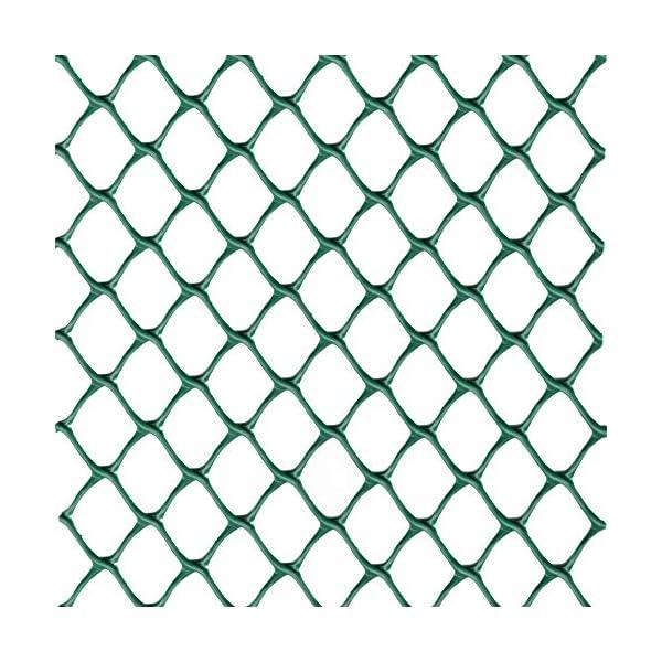 Rete Salvaprato Tenax Tr, Impedisce al Cane di Scavare Buche in Giardino, Verde, 1x5 m 1 spesavip
