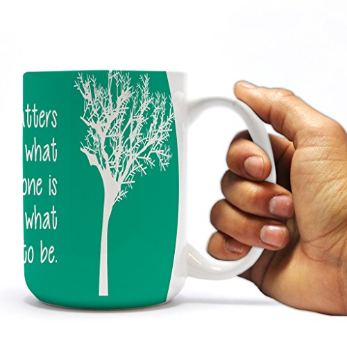 "Dumbledore Quote 15oz Coffee Mug – ""It matters…"""