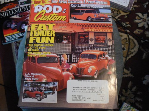 1939 Ford Coupe - Rod and Custom November 1999 Volume 33 No. 11