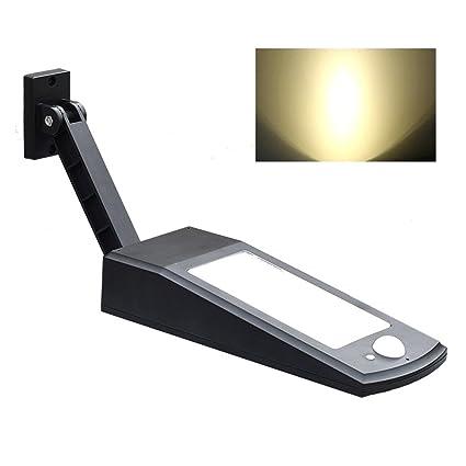 Woopower - Lámpara Solar para Coche, Sensor de Movimiento, 48 LED, 900 Lúmenes