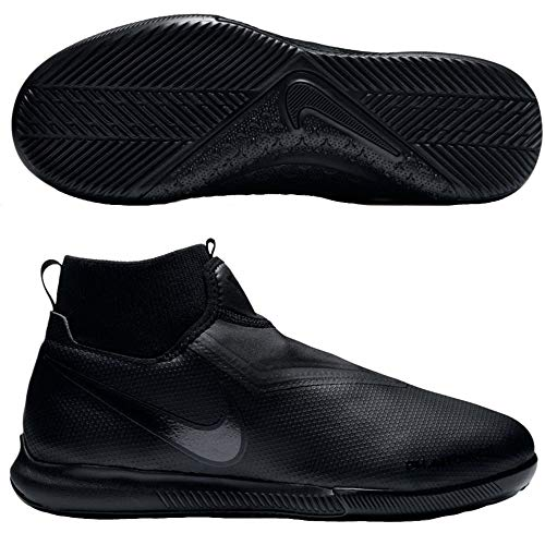 Nike Phantom Vision Academy Dynamic Fit Kids Soccer Indoor Shoe (2.5 Little Kid M) Black
