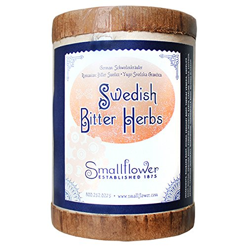 Sweetish Bitters - Original Schwedenkrauter (Maria Treben Swedish Herb Mixture) NEW FORMULA 200g loose herb by Smallflower