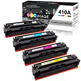 GPC Image Compatible Toner Cartridge Replacement for HP 410A,4 Pack