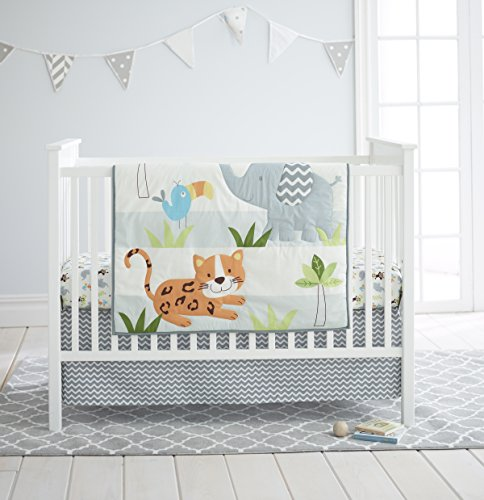 Cuddle Time 3 Piece Crib Bedding Set,
