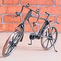 LoveOlvido Modelo de Bicicleta Antigua Metal Craft Decoración del ...