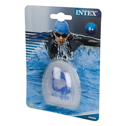 Intex combo tapones o dos y clip nasal for Tapones oidos piscina