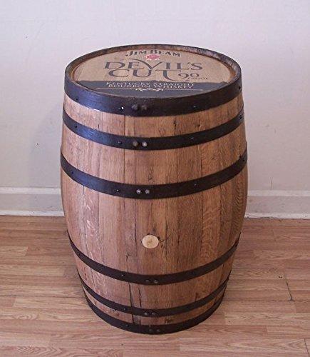 - Devil's Cut Jim Beam Kentucky Straight Bourbon Whiskey Barrel-Sanded-Finished