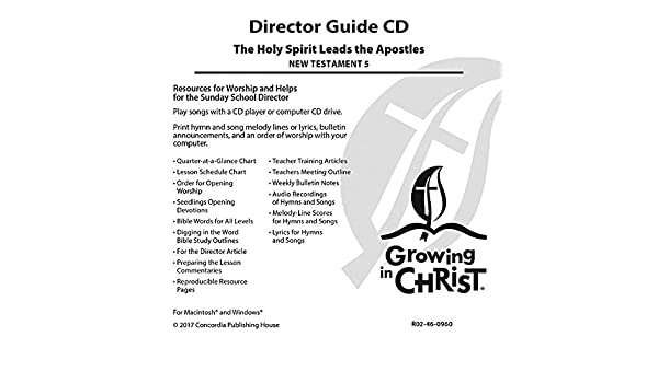 Director Kit (Nt5): Concordia Publishing House