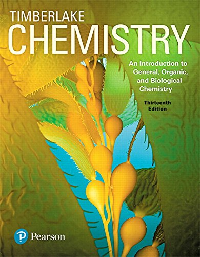 Pdf Teaching Chemistry: An Introduction to General, Organic, and Biological Chemistry (13th Edition)