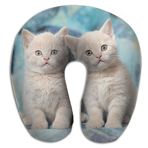Animals Cat Kittens Super U Type Pillow Neck Pillow Outdoor Travel Pillow Relief Neck Pain