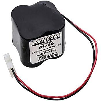 Door Lock Battery for Omnilock 5002 and more! - - Amazon.com