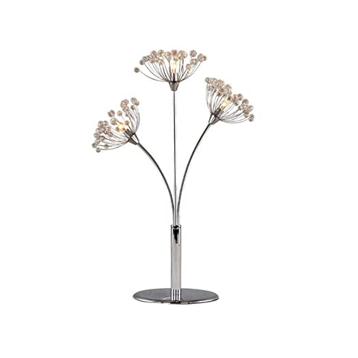 XSDEHGD Lámparas de Mesa de Cristal de diseño Elegante, luz de ...