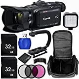Canon VIXIA HF G40 Full HD Camcorder Bundle with Carrying Case and Accessory Kit (12 Items)