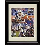 Framed Peyton Manning Sports Illustrated Autograph Replica Print -2007 Champs!