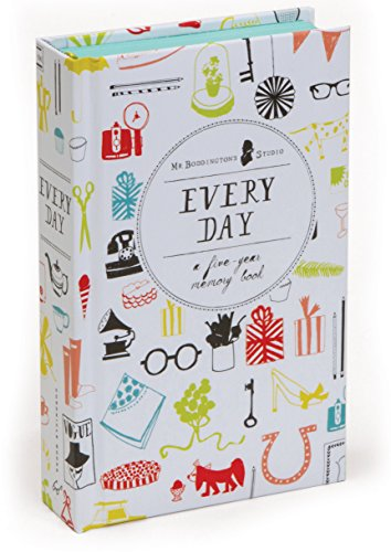 Every Day: A Five-Year Memory Book cover