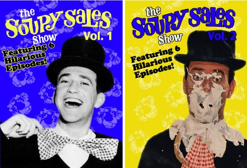 Honey Pie Collection - The Soupy Sales Show - Volumes 1 & 2 - 2 DVD Collection (Amazon.com Exclusive)