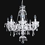 Crystal Pendant lighting fixture/Chandelier for dining room, Living room, Foyer H.31″ X W.27″ (8 Lights)