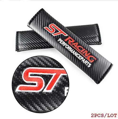 ST Racing en fibre de carbone Ceinture de s/écurit/é /épaule Coussinets Coque Fiesta Focus Mondeo Kuga