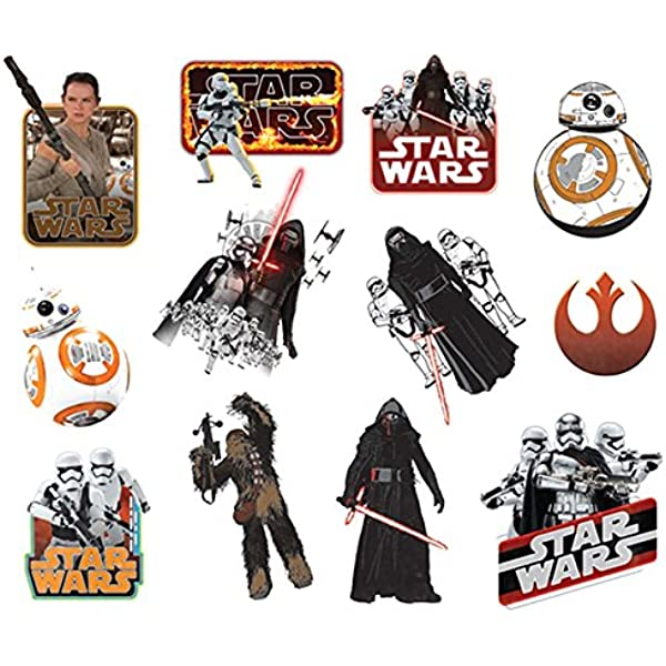 Star Wars 1970532 - Disney - 25 Tatuajes - Multicolor, S: Amazon ...