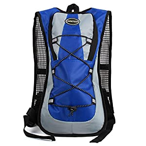 Hydration Pack with 2L Backpack Water Bladder for Hiking Running Biking 5 Colors