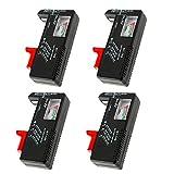 Best Battery Testers - 4 Pack Digital Battery Tester, Universal Battery Checker Review