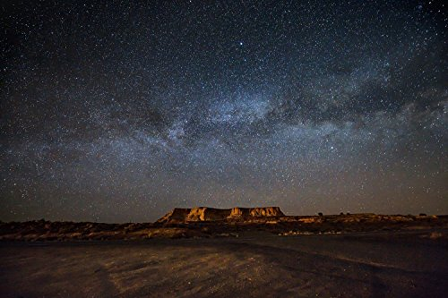 milky-way-galaxy-over-mesa-in-arizona-night-sky-photography-print-wall-art-home-decor-picture