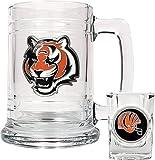 Cincinnati Bengals Boilermaker Set (15 oz. Mug and 2 oz. Shot Glass) [Sports]