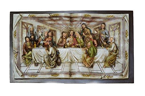 Hi-Line Gift Ltd Last Supper Wall Plaque, Small/7'' by Hi-Line Gift Ltd