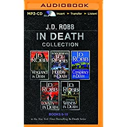 J. D. Robb In Death Collection Books 6-10: Vengeance in Death, Holiday in Death, Conspiracy in Death, Loyalty in Death, Witness in Death (In Death Series)