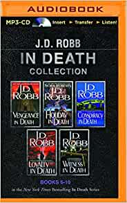 J D Robb Audio Books J. D. Robb In Death Co...