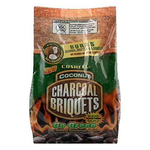 Coshell Ccb Briquets Mesquite 6.6 Lb (Pack Of 5)