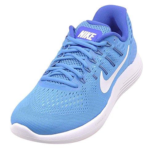 Nike Damen Lunarglide 8 Wmns Laufschuhe Blau Weiss
