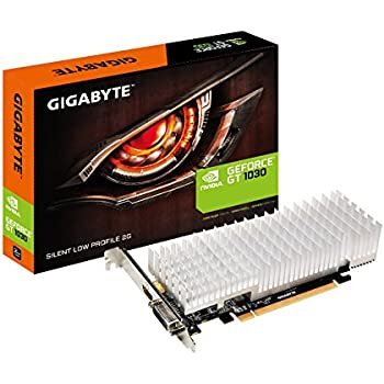 Amazon com: GIGABYTE GeForce GT 1030 GV-N1030D5-2GL Low