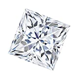 6.5 MM Square Brilliant Cut Forever One® Loose Moissanite by Charles & Colvard - Very Good Cut (1.50ct Actual Weight, 1.70ct Diamond Equivalent Weight)