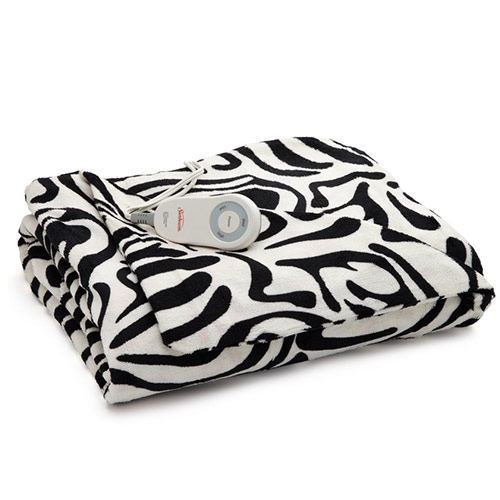 zebra heated blanket - 9
