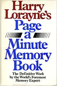 the memory book harry lorayne pdf